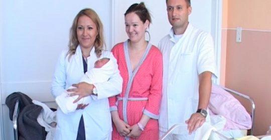 Obavljen prvi bezbolni porođaj u gradiškoj Bolnici