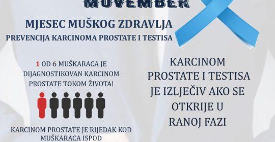 Mjesec muškog zdravlja u JZU Bolnici Gradiška