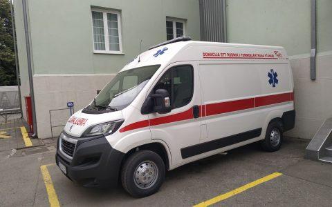 Donacija sanitetskog vozila
